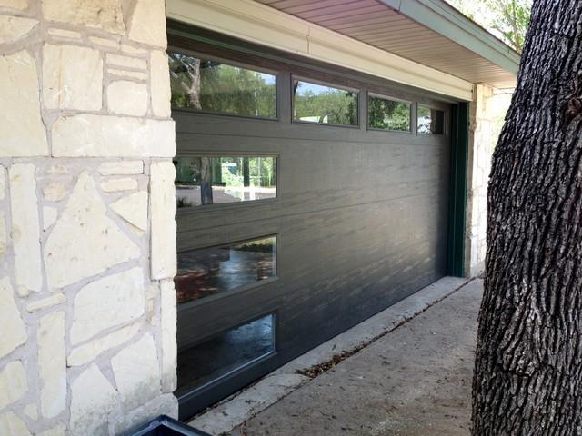Mid Century Modern Garage Door By Cowart Door Systems Midcentury