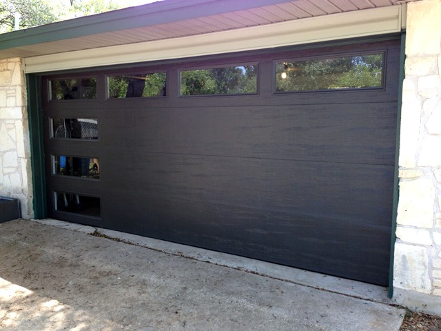 Mid Century Modern Garage Door By Cowart Door Systems
