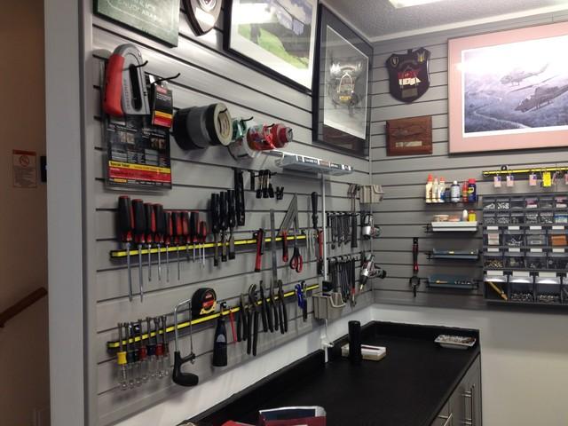 Miscellaneous Garage Interiors Traditional Garage