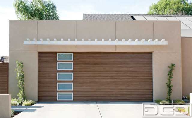 Modern Garage Doors Custom Designed And Handrafted For A