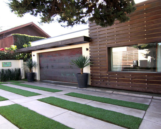 Contemporary 6x6 post pergola garage and shed design ideas for Modern house 6x6