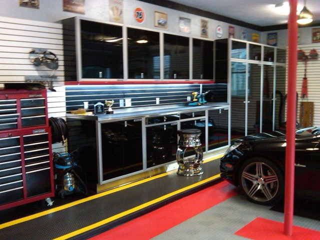 Design Ideas For A Contemporary Garage In Boston. Email Save. Moduline  Cabinets