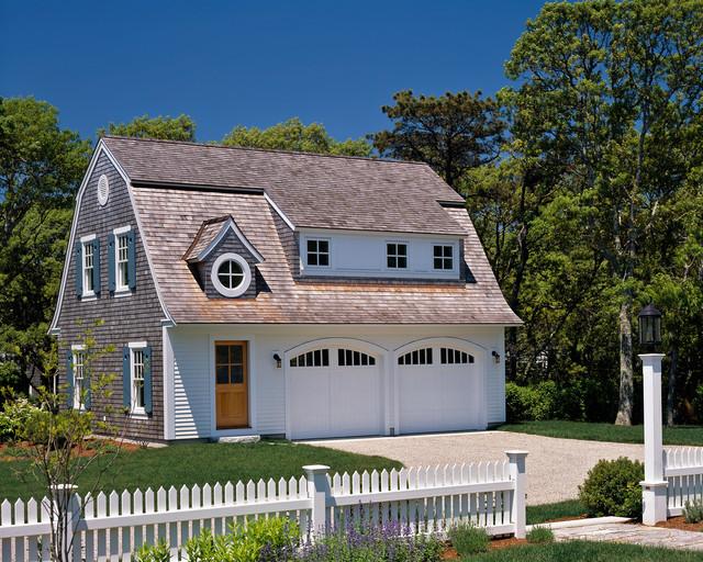 Morris Island Guest House - Victorian - Garage - Boston - by Polhemus Savery DaSilva