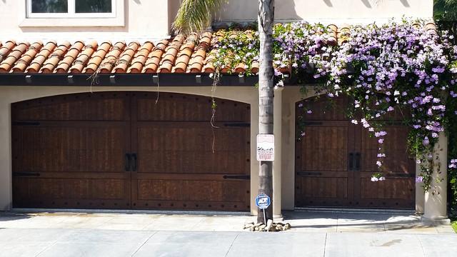 NEW HOUSE - SPANISH GARAGE DOORS UP CLOSE - Mediterranean - Garage - san diego - by Access ...