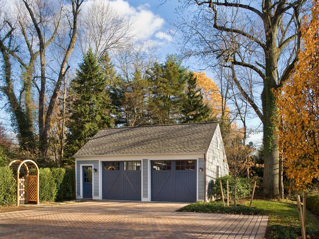 Olden Lane Garage, Princeton traditional-garage-and-shed
