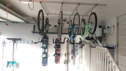 【Houzz】スポーツ用自転車を家の中に収納・保管する5つのアイデア 16番目の画像