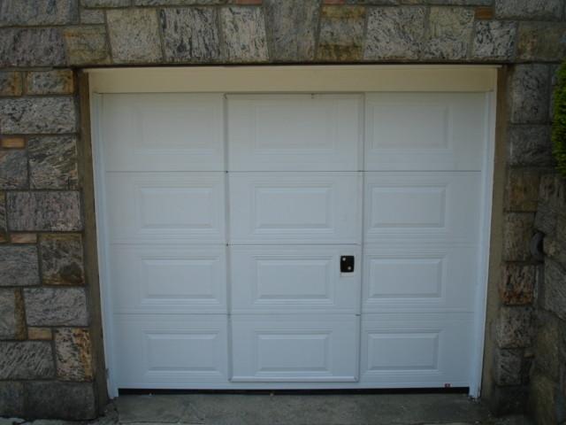 Beau Pass Through Garage Door. Contemporary Garage