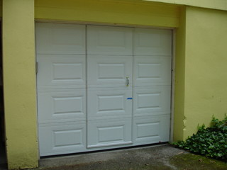 Pass Through Garage Door