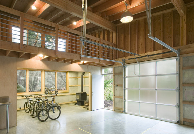 Rainbow Rock Modern Garage And Shed Seattle By