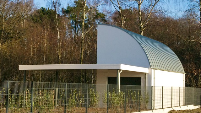 residential house, Doetinchem contemporary-garage-and-shed