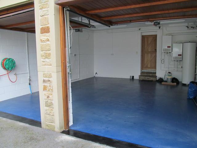 Resin Flooring South East England Contemporary Garage