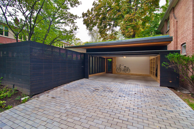 Rosedale PARK Modern Garage And Shed Toronto By