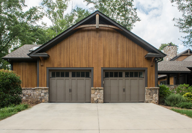 Rustic Residence In The Woods Rustic Garage Other