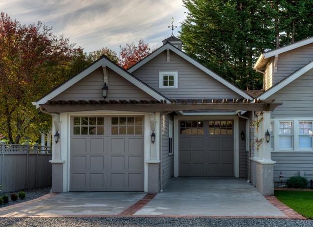 Sears House Garage Addition Camano Island Wa Craftsman Garage