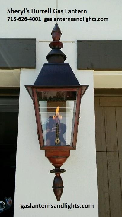 Sheryl's Durrell Gas Lantern