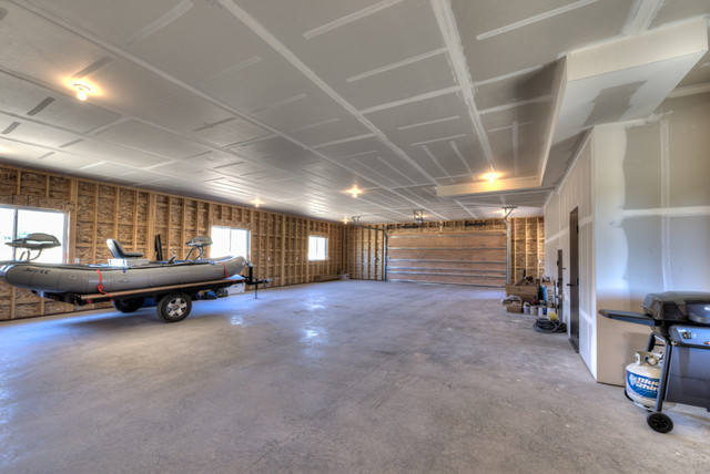 Shop With Living Quarters Victor Mt Garage Other By