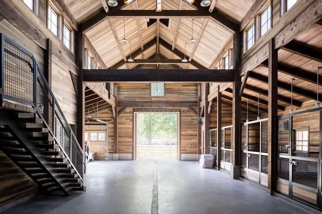 Snuck Farms Farmhouse Garage Salt Lake City By