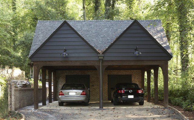 Solid Shelter contemporary-garage-and-shed