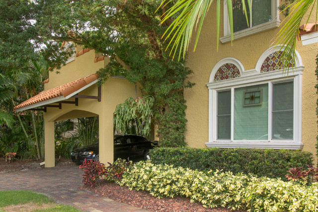 Spanish Style Carport in St. Petersburg, FL - Mediterranean - Garage And Shed - tampa - by ...