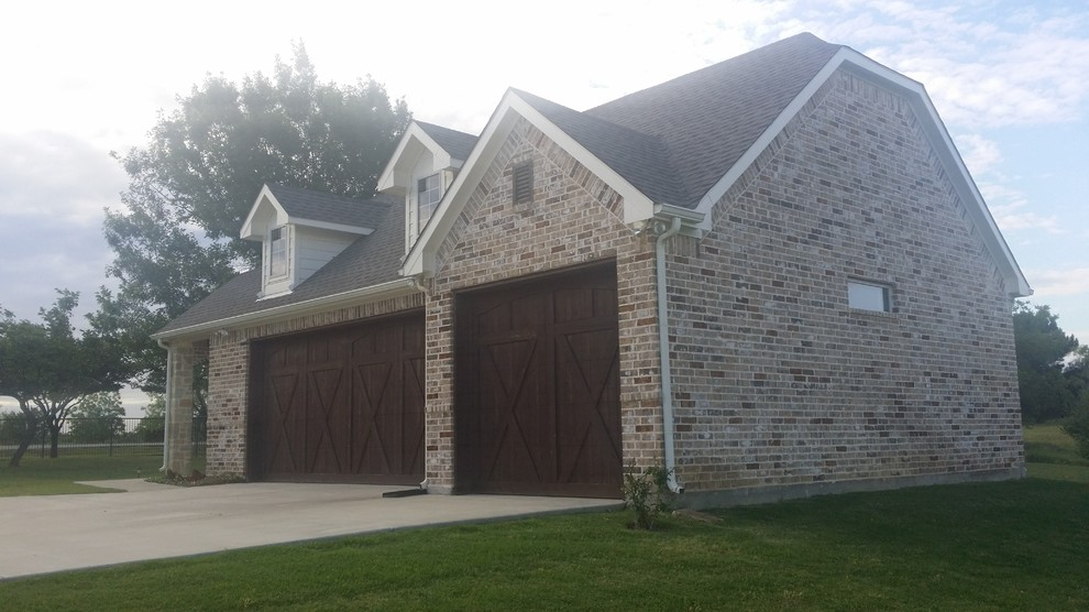 Stand Alone Garage Traditional Garage Dallas By Clear Creek Home Improvements