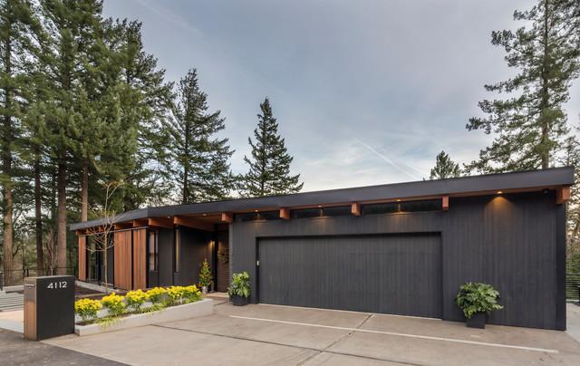 The Greenhills Housemidcentury Garage Portland