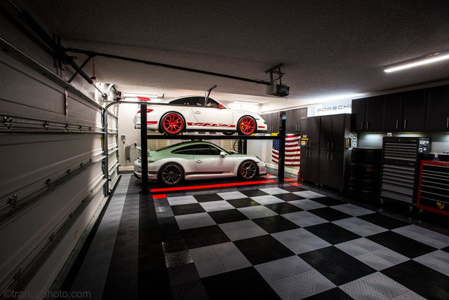 The Ultimate Home Garage Floored With Racedeck Garage