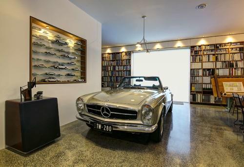 【Houzz】車好きなら当たり前? 愛車を眺める室内ガレージ11選 3番目の画像
