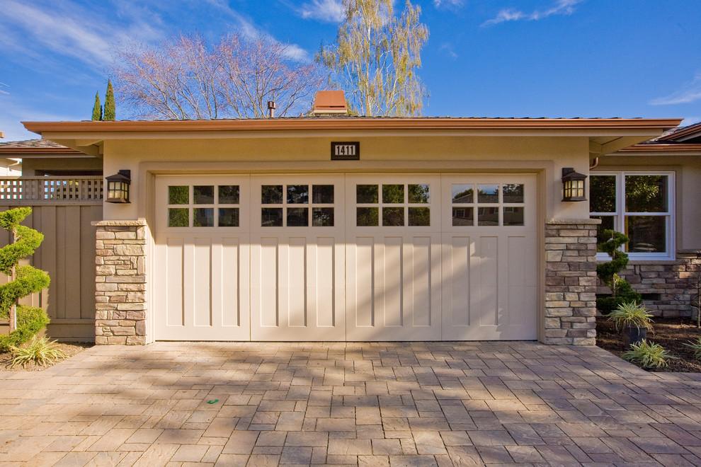 Traditional Carriage House Garage Door