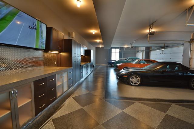 Ultimate Garage - Industrial - Garage - Edmonton - by Homes By ...