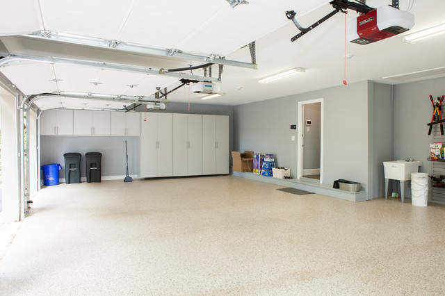 3 Car Garage With Storage 21691dr: Villanova, PA: Interior Of The Three Car Garage Storage