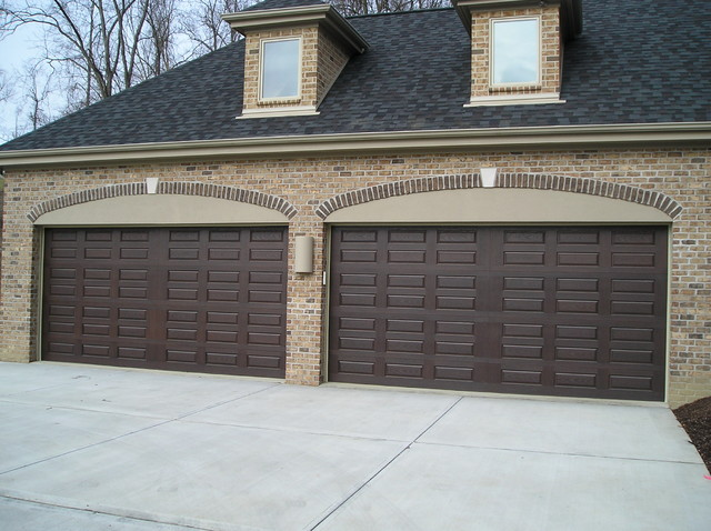 Wayne Dalton 9800 Garage Door Transitional Garage Other By