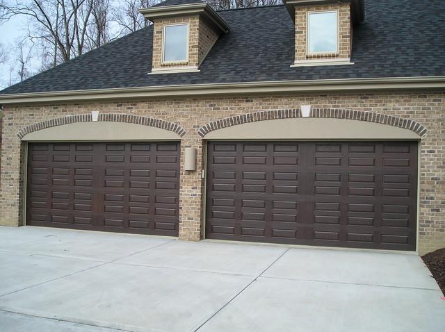 Wayne Dalton 9800 Garage Door Transitional Garage