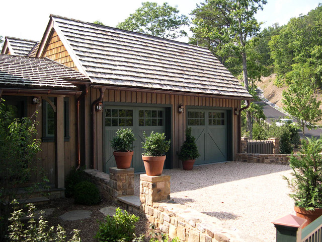 West virginia traditional garage dc metro by mckee for Traditional garage