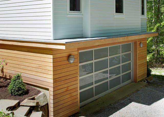 Westport Renovation modern-garage-and-shed