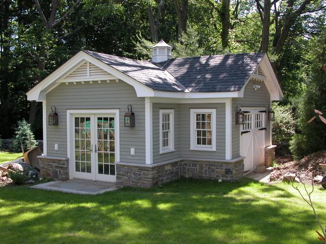 cottage garage ideas - Whole House Renovation Addition and Detached Garage Workshop