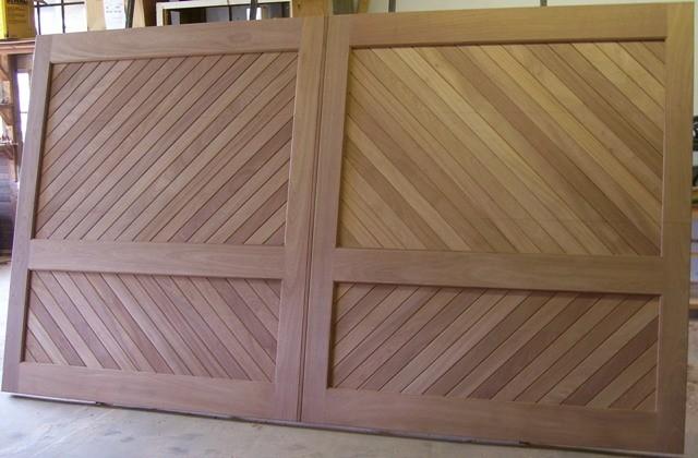 Wood Garage Doors and Carriage Doors - Rustic - Garage ...