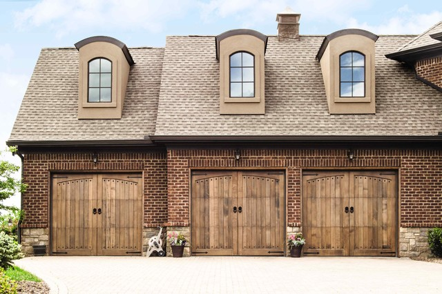 Wood garage doors rustic shed by wayne dalton garage for Rustic wood garage doors