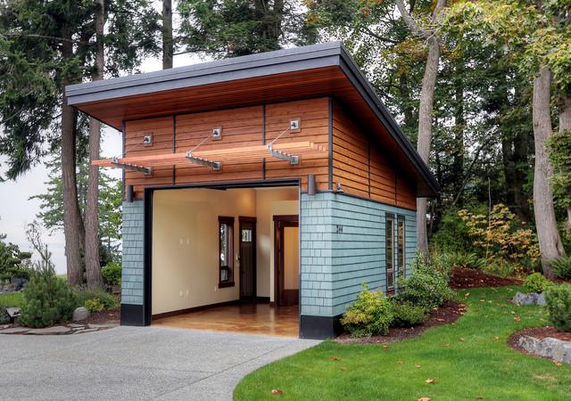 Woodlawn studio for Outdoor garage plans