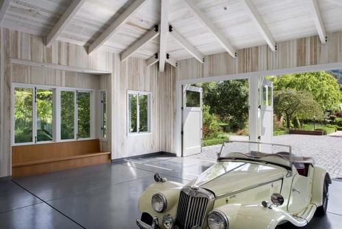 【Houzz】車好きなら当たり前? 愛車を眺める室内ガレージ11選 10番目の画像