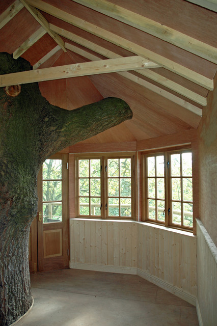 Adult Treehouse Design in Co. Meath country-garden-shed-and-building