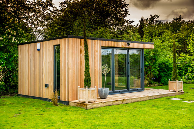 Bespoke garden room wilmslow cheshire contemporary for Contemporary garden buildings