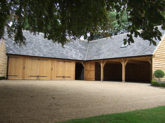 Bespoke l shape for Traditional garden buildings