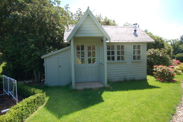 39 buying time 39 traditional garden little baddow essex for Garden shed essex