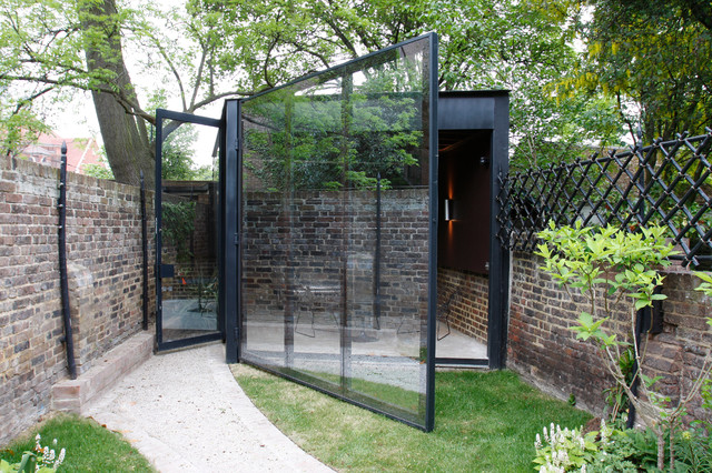 Canonbury Square Industrial Garden Shed And Building