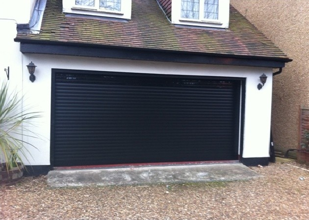 Changing A Wooden Garage Door To A Roller Garage Door Modern Granny Flat