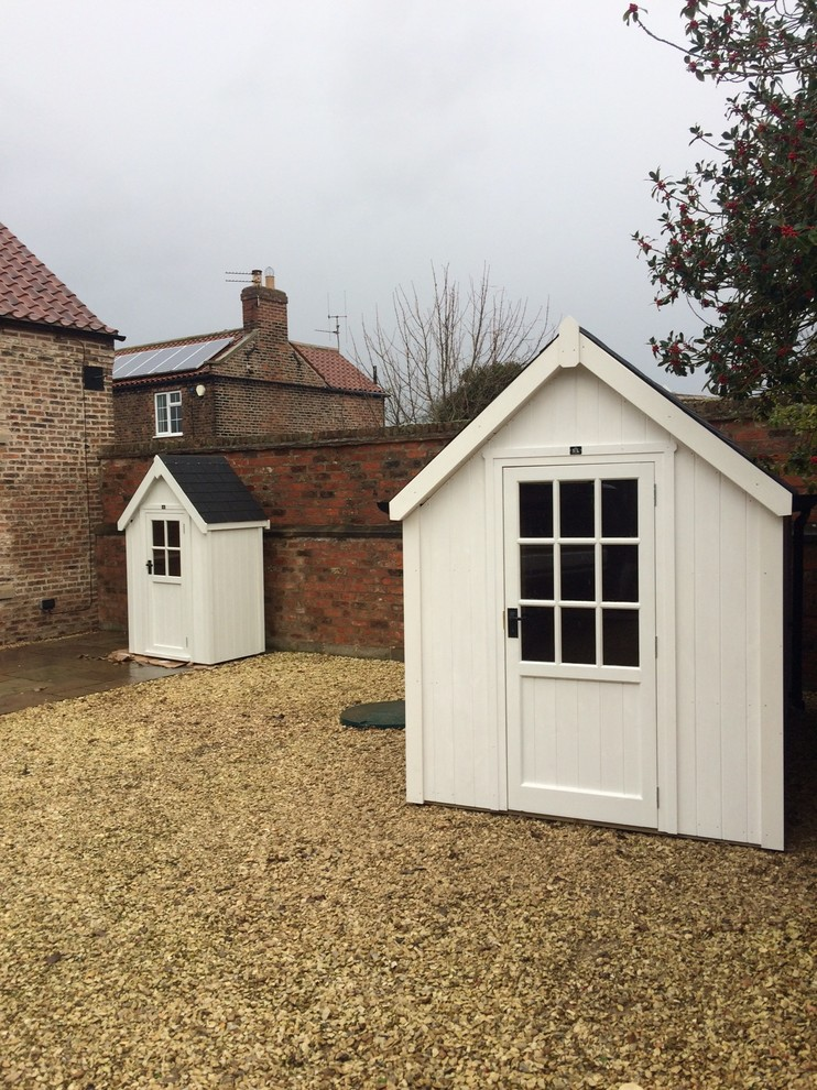 Small modern detached garden shed in Other.