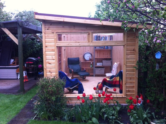 Storage Shed Man Cave Ideas : Colin's outhouse.