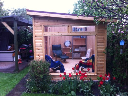 Small Backyard Man Cave : Innovative Uses for Your Backyard Shed  Abode