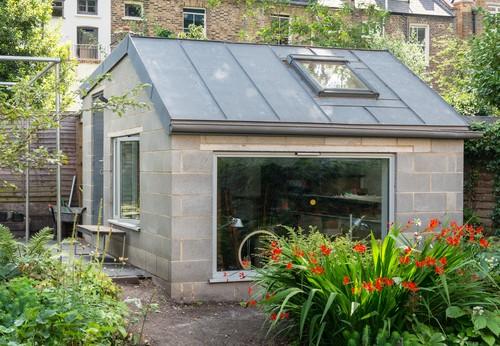 Kitchen Extension and Garden Workshop in Dalston