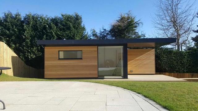 Dab Den Garden Room Summer House Contemporary Garden Shed And - Modern garden summer house